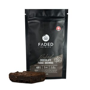 Faded Cannabis Co. THC Brownies UK