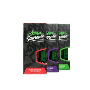 Green Supreme Vape Cartridges UK