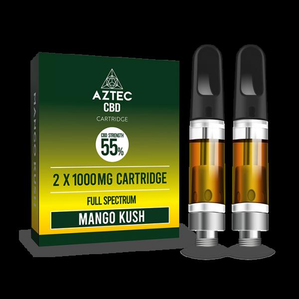 Aztec Mango Kush CBD Cartridges
